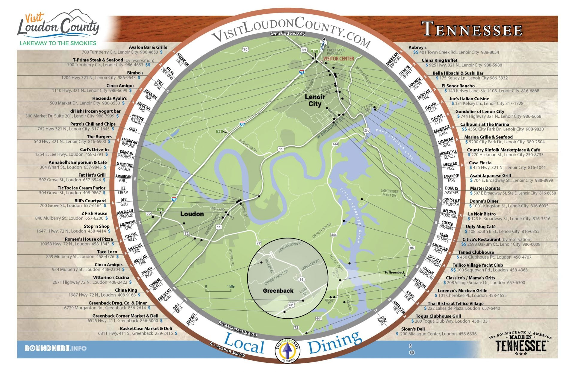 Loudon County RoundHere